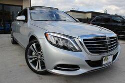 Mercedes-Benz S-Class S 550,CLEAN CARFAX,FACTORY WARRANTY,LOADED! 2015