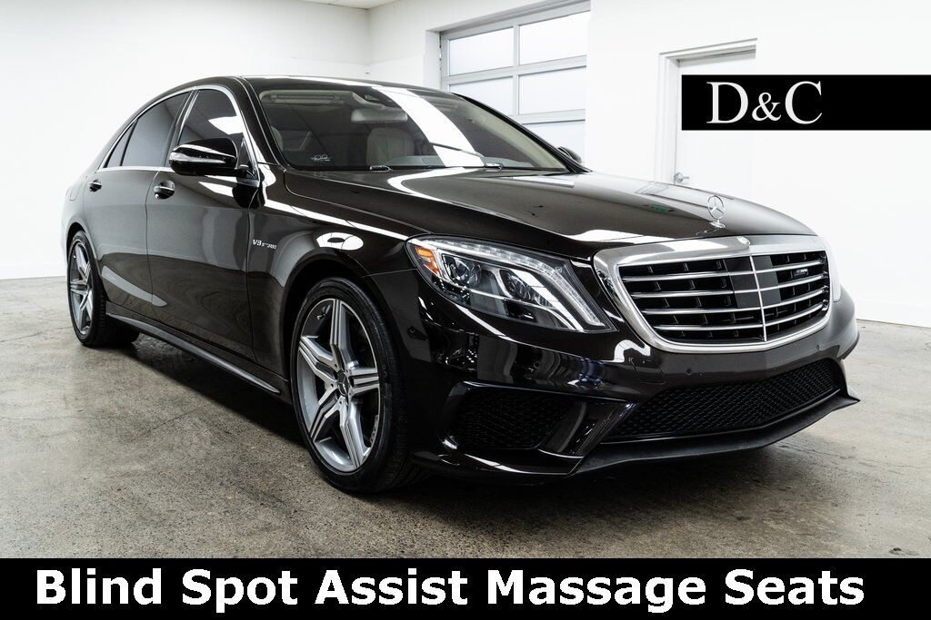 2015 Mercedes-Benz S-Class S 63 AMG 4MATIC Blind Spot Assist Massage Seats Portland OR