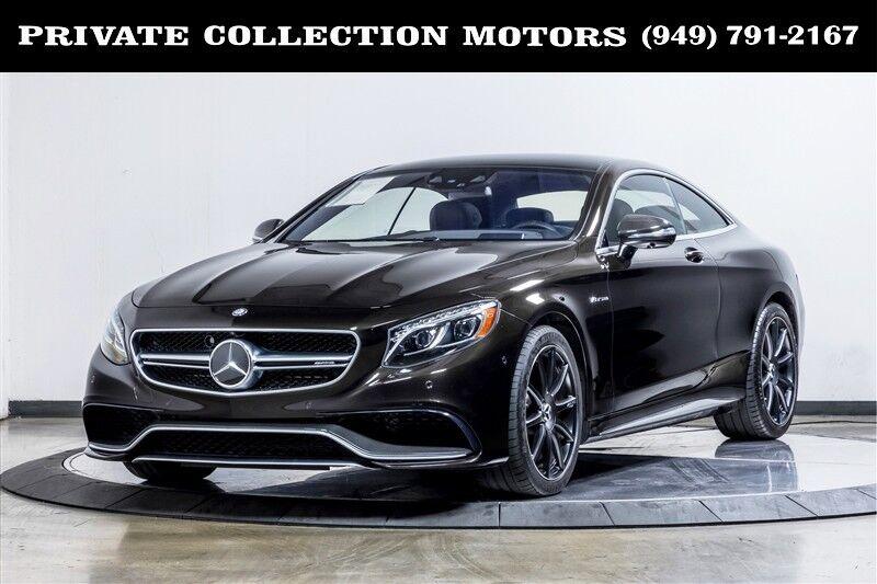 2015 Mercedes-Benz S-Class S 63 AMG Costa Mesa CA