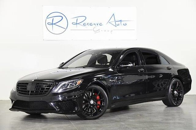 2015 Mercedes-Benz S-Class S 63 AMG Driver Asst Carbon Fiber Pkg Night View The Colony TX