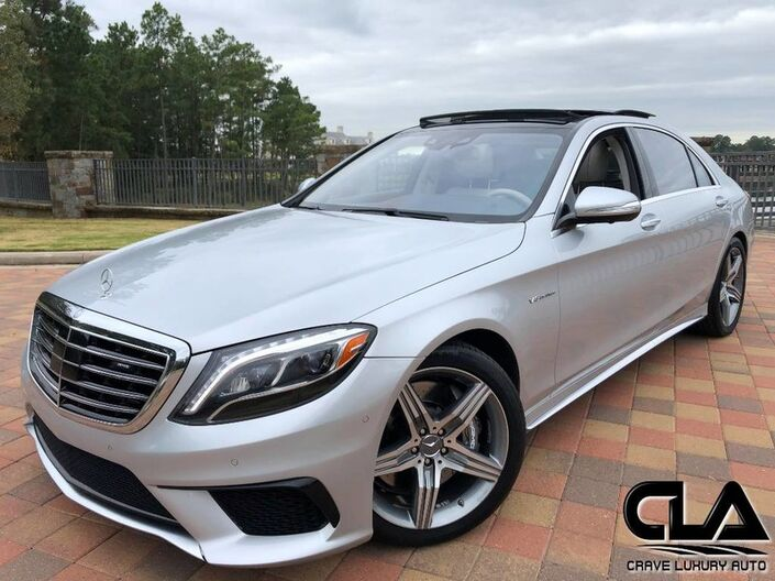 2015 Mercedes-Benz S-Class S 63 AMG The Woodlands TX