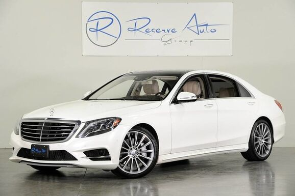 2015_Mercedes-Benz_S-Class_S550 AMG Sport P1 Drvr Assist Designo HUD_ The Colony TX