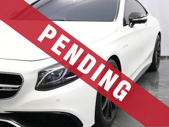 2015 Mercedes-Benz S-Class S63 AMG / 5.5L Bi-TurboEngine / Warmth and Comfort /Carbon Fiber Package / Driver Assistance Package Addison IL