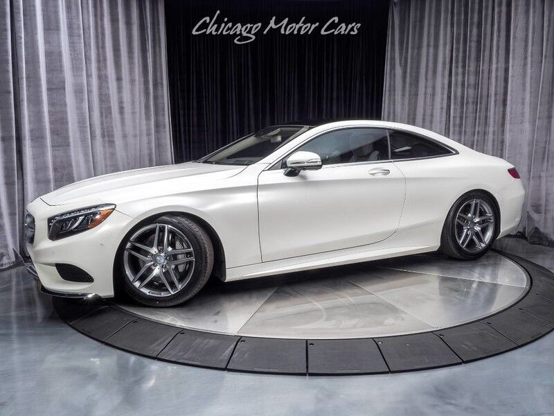 2015_Mercedes-Benz_S550_4 Matic Coupe MSRP $143,155+_ Chicago IL