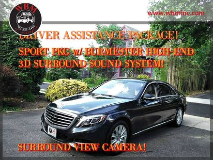 2015_Mercedes-Benz_S550_4MATIC w/ Premium Package_ Arlington VA