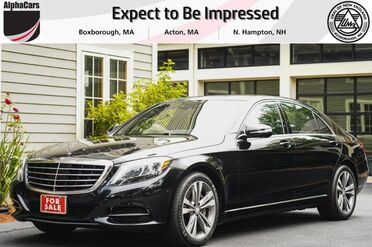 2015_Mercedes-Benz_S550_4Matic_ Boxborough MA