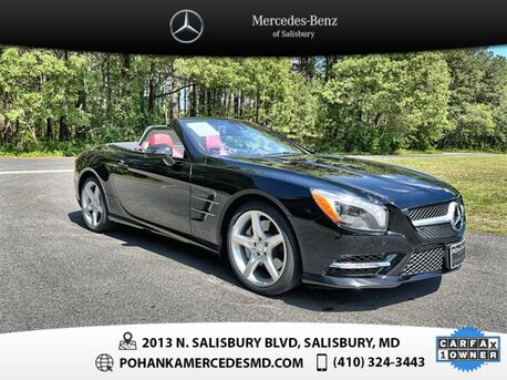 2015_Mercedes-Benz_SL-Class_SL 400 Roadster ** Only 5,557 Miles ** Hard Top Convertible **_ Salisbury MD
