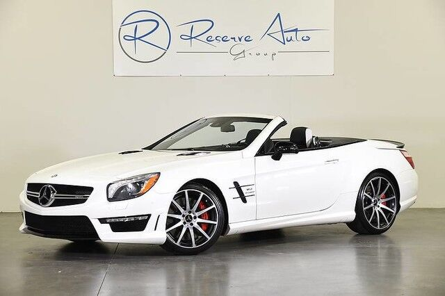 2015 Mercedes-Benz SL-Class SL 63 AMG Magic Sky Control Blind Spot Assist The Colony TX