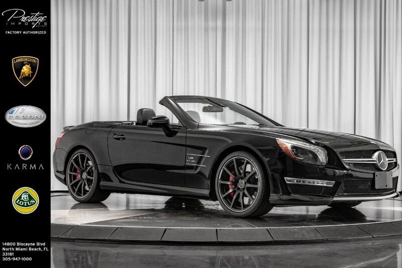 2015 Mercedes-Benz SL-Class SL 63 AMG North Miami FL