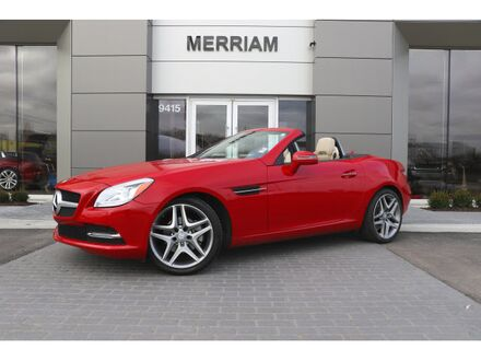 2015_Mercedes-Benz_SLK_250_ Merriam KS