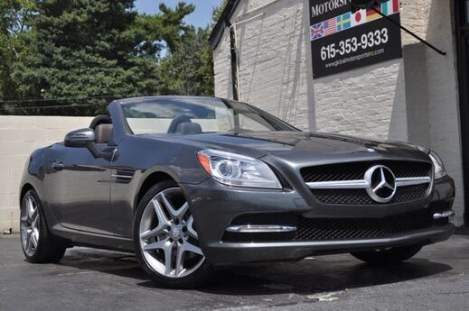 2015 Mercedes-Benz SLK-Class SLK 250 Roadster/RARE Designo/Sport Package/Panoramic Roof/Premium 1 Package w/ Command Navigation/Keyless-Go/Harman Kardon Audio/Heated Seats, Airscarf/Bi-Xenon Headlights Nashville TN