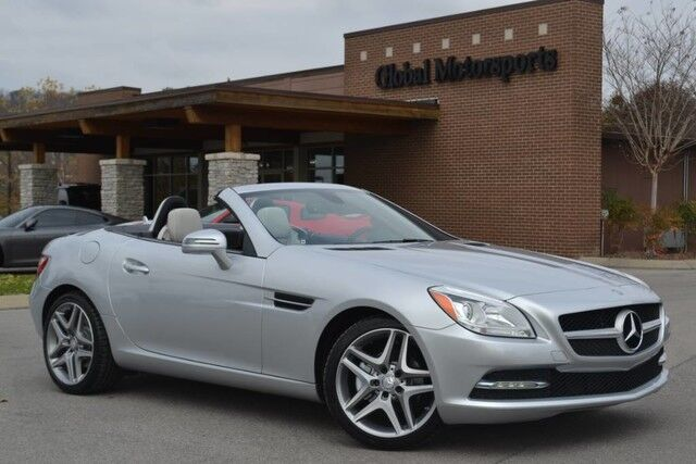 2015 Mercedes-Benz SLK-Class SLK 250$48,620 MSRP/Hardtop Convertible/Panoramic Sunroof/Navigation/18'' Twin Spoke Wheels/Paddle Shifters/Rear Deck Spoiler/Bluetooth Audio/Sat Radio Nashville TN