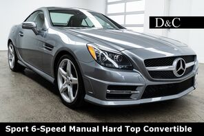 2015_Mercedes-Benz_SLK_SLK 250 AMG Sport 6-Speed Manual Hard Top Convertible_ Portland OR
