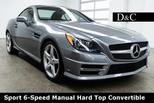 2015 Mercedes-Benz SLK SLK 250 AMG Sport 6-Speed Manual Hard Top Convertible