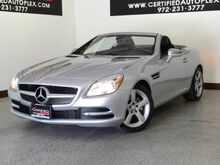 2015_Mercedes-Benz_SLK250 CONVERTIBLE_PREMIUM 1 PKG ATTENTION ASSIST AIRSCARF HARMAN KARDON SOUND MULTIMEDIA_ Carrollton TX