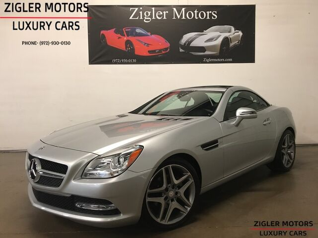 2015 Mercedes-Benz SLK250 Sport Pkg Pano Roof Keyless-Go One Owner CLEAN CARFAX Addison TX