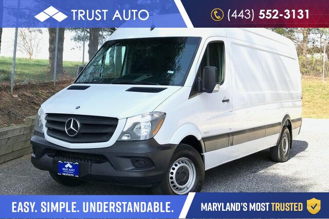 2015 Mercedes-Benz Sprinter Cargo Vans 2500 High Roof 170-in. WB Turbo Diesel