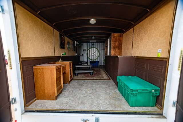 2015 Mirage M8250 T/A 8.5 X 20 FT Utility Trailer Escape Room Red Deer AB
