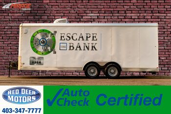 2015_Mirage_M8250_T/A 8.5 X 20 FT Utility Trailer Escape Room_ Red Deer AB