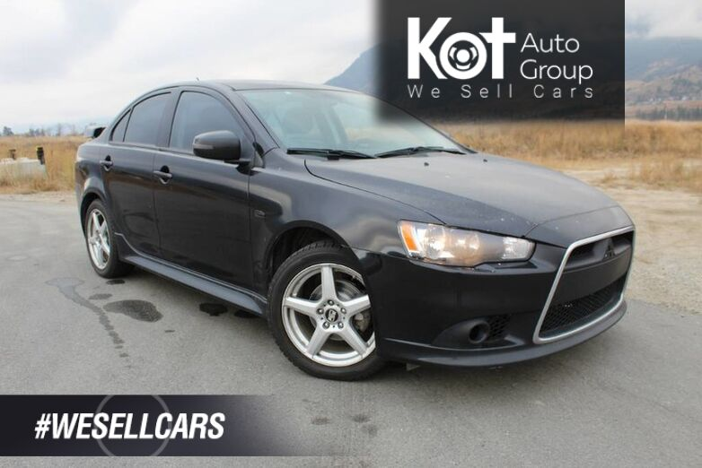 2015 Mitsubishi Lancer GT, FWD, No Accidents, Sunroof, Heated Front Seats Kelowna BC