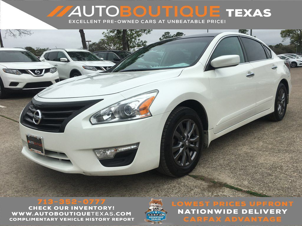 2015 NISSAN ALTIMA S S Houston TX