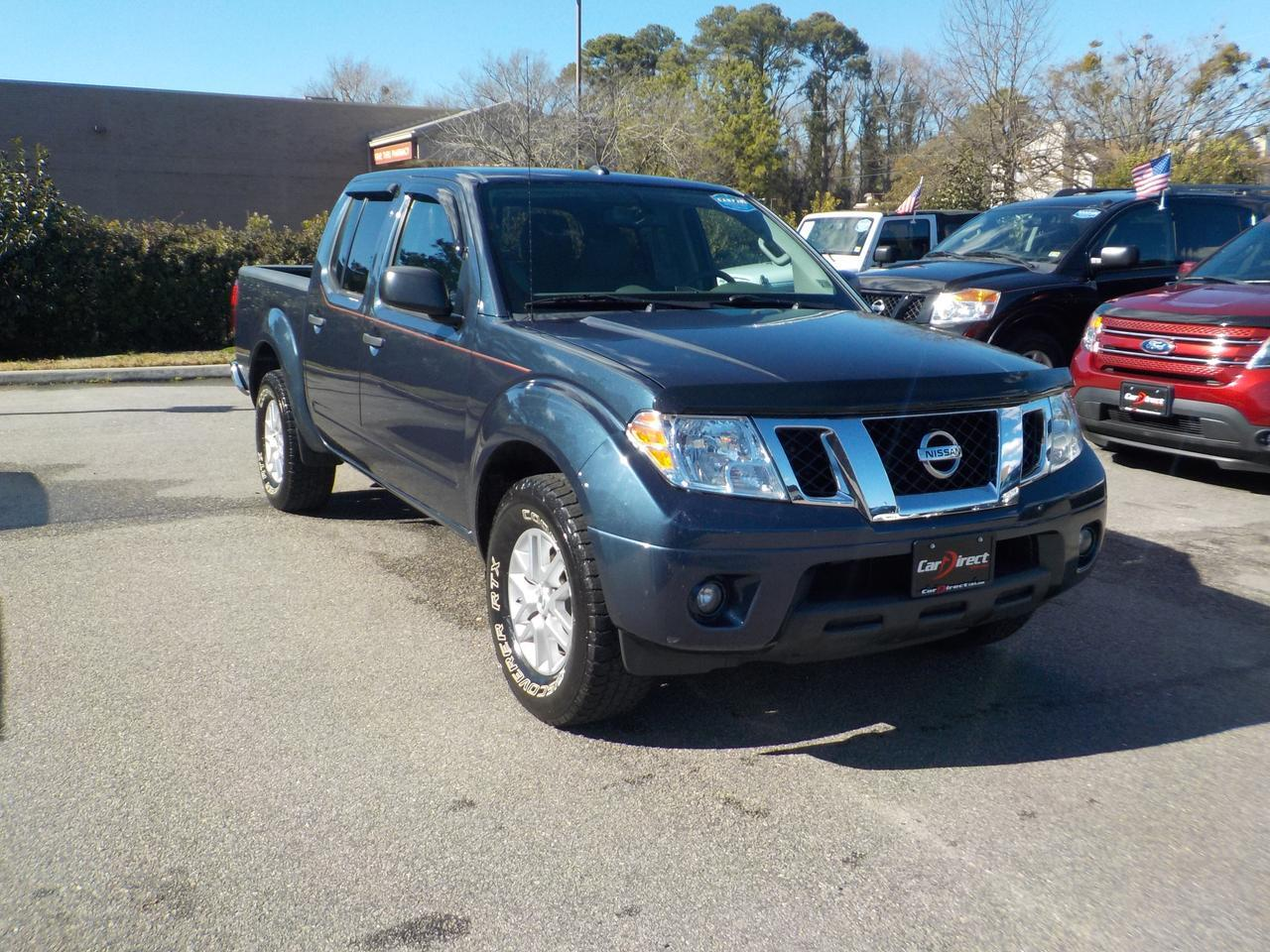 2015 NISSAN FRONTIER CREW CAB SV, ONE OWNER, HEATED SEATS, BLUETOOTH, TOW PACKAGE, BACKUP CAMERA, ONLY 65K MILES! Virginia Beach VA