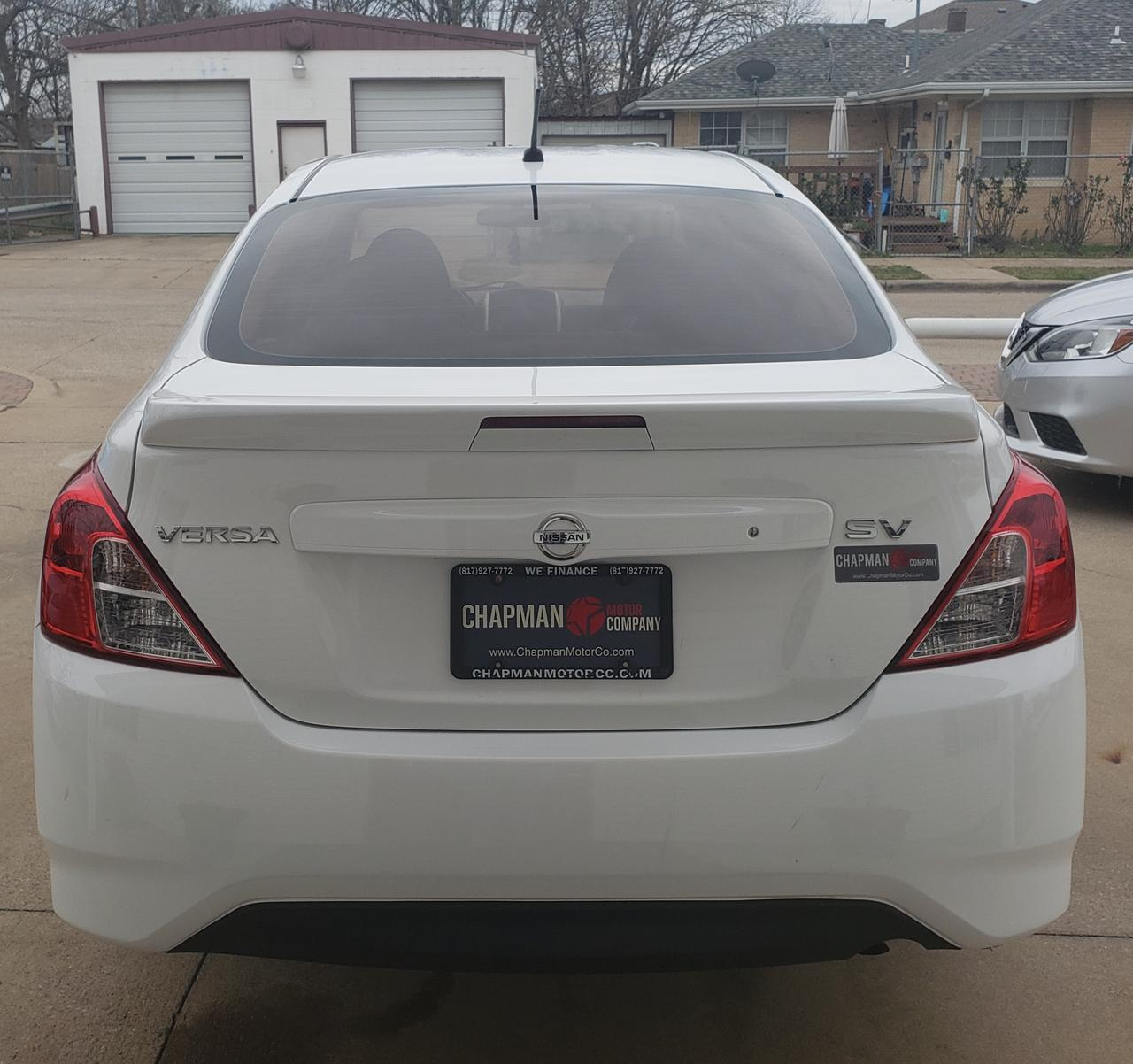 2015 NISSAN VERSA SV Fort Worth TX