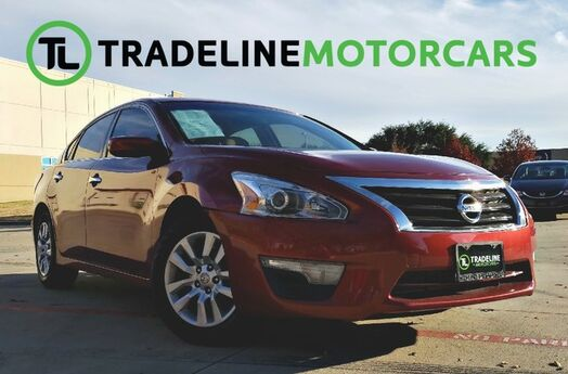 2015 Nissan Altima 2.5 S KEY-LESS START, REAR VIEW CAMERA, SPORT, AND MUCH MORE!!! CARROLLTON TX