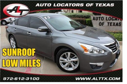 2015 Nissan Altima 2.5 SV with POWER SUNROOF Plano TX