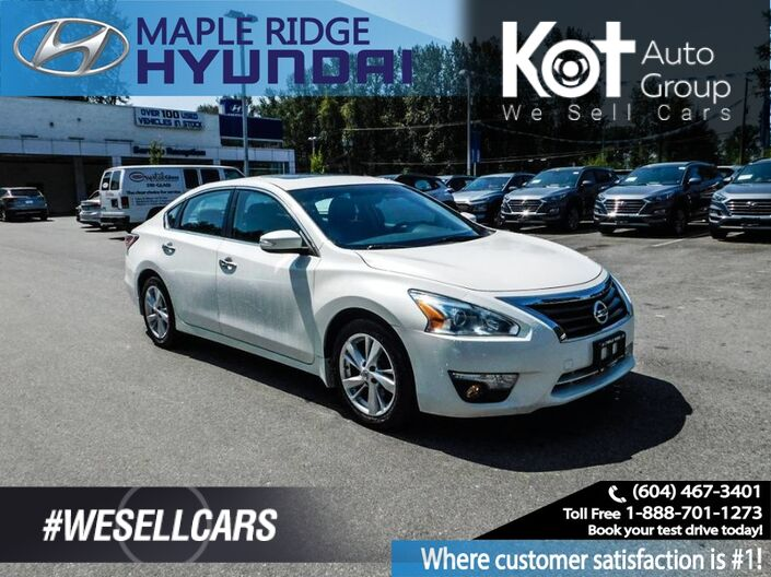 2015 Nissan Altima SL 2.5 Navigation, Bluetooth, Moonroof Maple Ridge BC