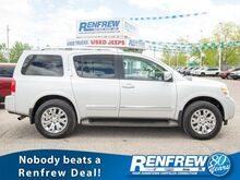 2015_Nissan_Armada_4WD Platinum, Rear DVD, Nav, Heated Leather Seats, Backup Camera_ Calgary AB