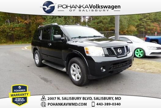 2015_Nissan_Armada_SV 4X4 ** CLEAN CARFAX ** GREAT BUY **_ Salisbury MD