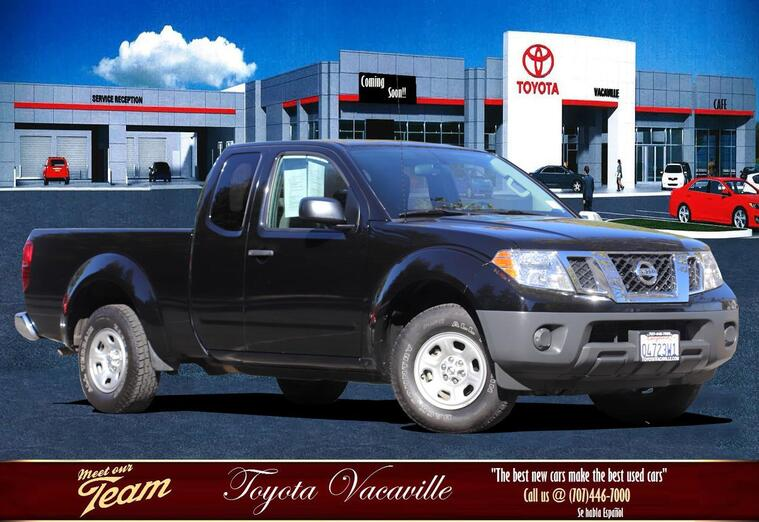 2015 Nissan Frontier King Cab S Pickup  6 Ft Vacaville CA