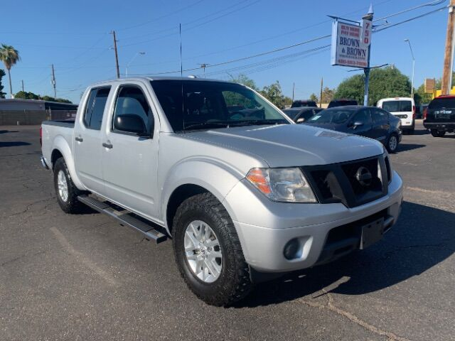 2015 Nissan Frontier S Crew Cab 5AT 2WD Mesa AZ