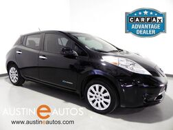 2015_Nissan_LEAF S_*BACKUP-CAMERA, QUICK CHARGE, STEERING WHEEL CONTROLS, HEATED SEATS, HEATED STEERING WHEEL, CRUISE CONTROL, BLUETOOTH PHONE_ Round Rock TX