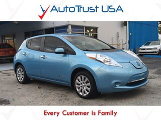 Nissan LEAF S ELECTRIC BACKUP CAM POWER SEAT LOW MILES 2015