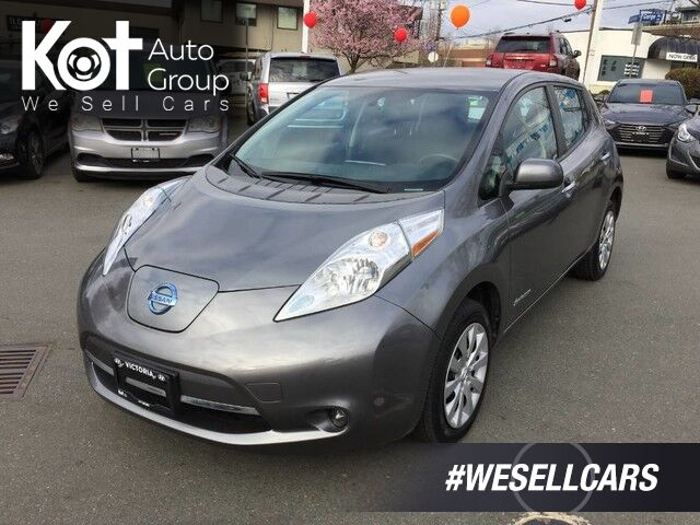 2015 Nissan LEAF S! NO MORE GAS! SAFE TODAY! 1 OWNER! $3000 SCRAP IT TICKET! Victoria BC