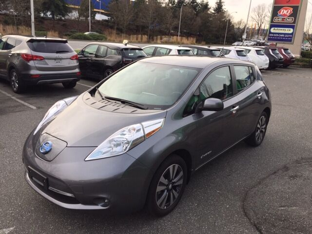 2015 Nissan LEAF SV | Navi | Low Mileage | No Accidents Coquitlam BC