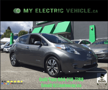 2015_Nissan_LEAF_SV | Navi | Low Mileage | No Accidents_ Coquitlam BC