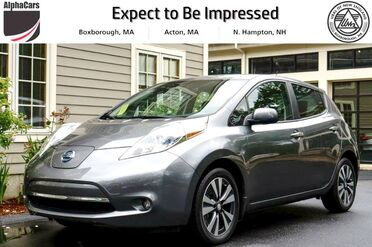 2015_Nissan_LEAF_SV_ Boxborough MA