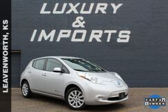 2015_Nissan_Leaf_S_ Leavenworth KS