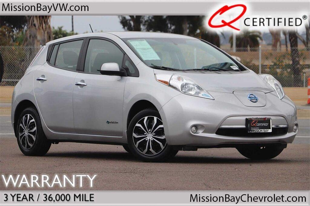 2015 Nissan Leaf S San Diego CA