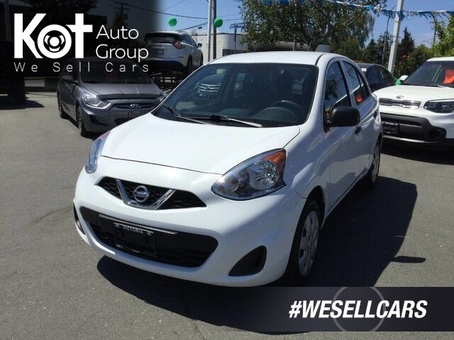 2015 Nissan Micra S Manual Transmission! Great On Gas! Victoria BC