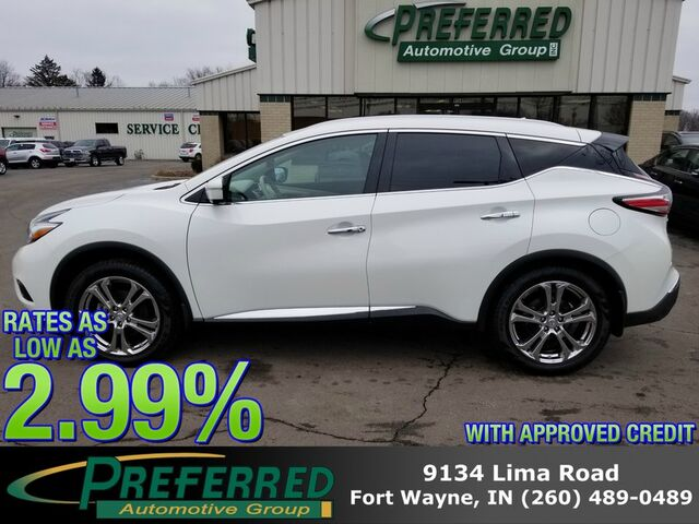 2015 Nissan Murano Platinum Fort Wayne Auburn and Kendallville IN