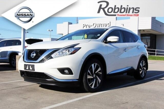 2015 Nissan Murano Platinum Houston TX