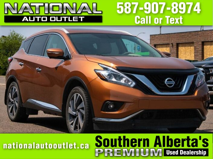 2015 Nissan Murano SL - HEATED FRONT AND BACK LEATHER SEATS- PANORAMIC ROOF Lethbridge AB
