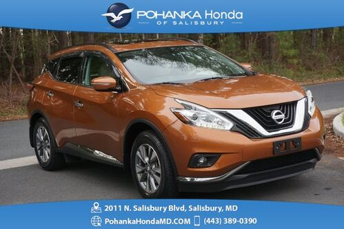 2015_Nissan_Murano_SV AWD ** NAVI & PANORAMIC SUNROOF ** 1 Owner **_ Salisbury MD