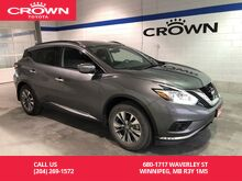 2015_Nissan_Murano_SV FWD / Clean Carproof / Local / One Owner / Low Kms / Panoramic Sunroof_ Winnipeg MB