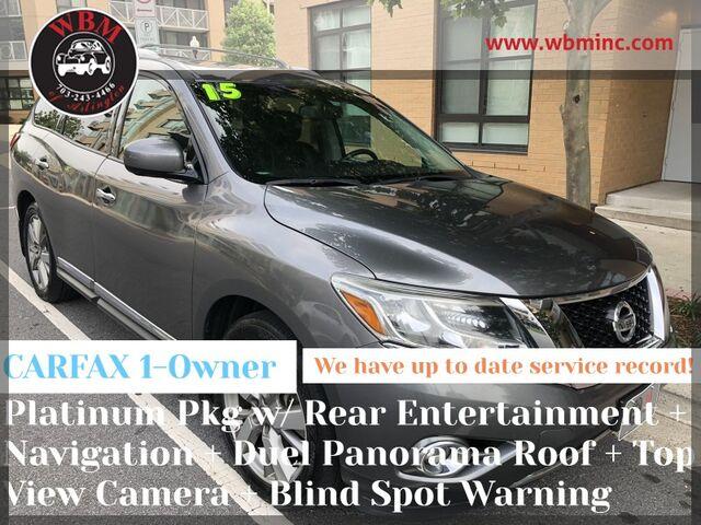 2015 Nissan Pathfinder 4WD Platinum Arlington VA