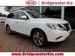 2015 Nissan Pathfinder Platinum 4WD, Navigation System, Rear-View Camera, Bose Premium Sound, Ventilated Leather Seats, 3RD Row Seats, Panorama Sunroof, Power Liftgate, 20-Inch Alloy Wheels,